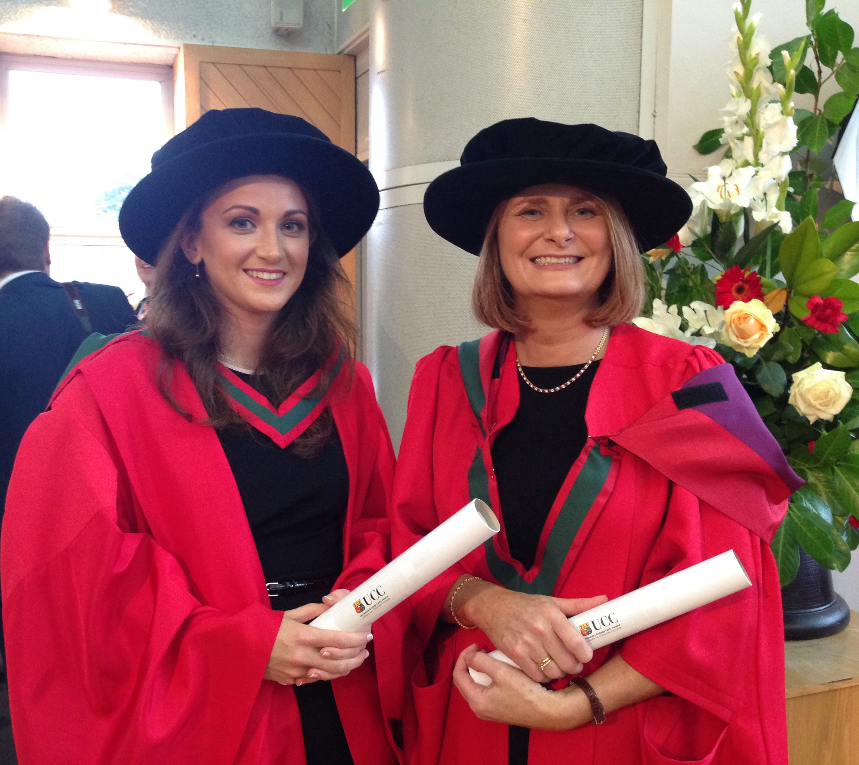 Congratulations to Dr McMorrow & Dr Harding
