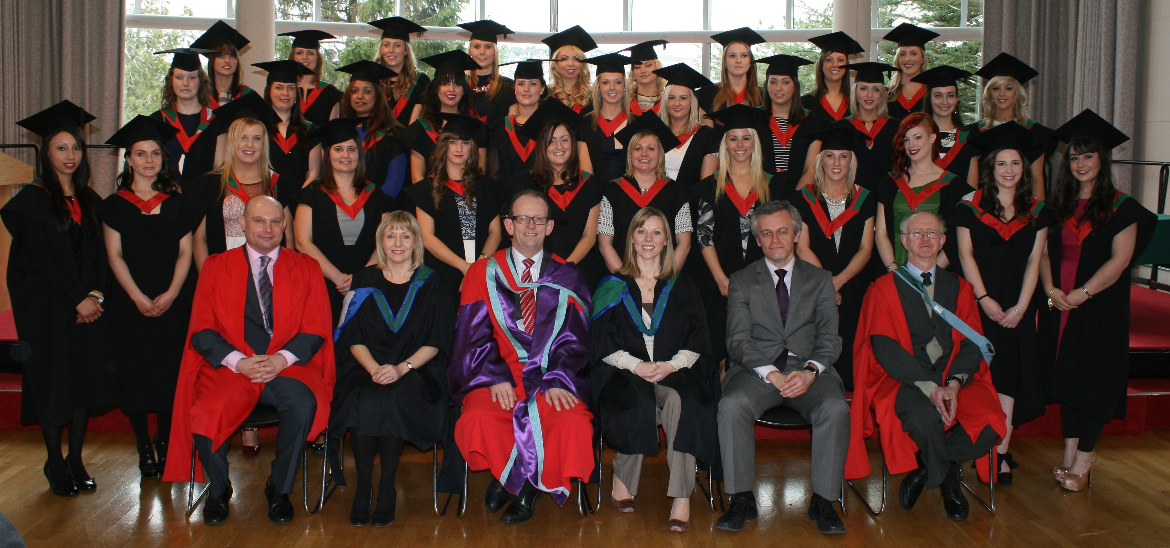 A photo gallery of this years Spring Conferrings