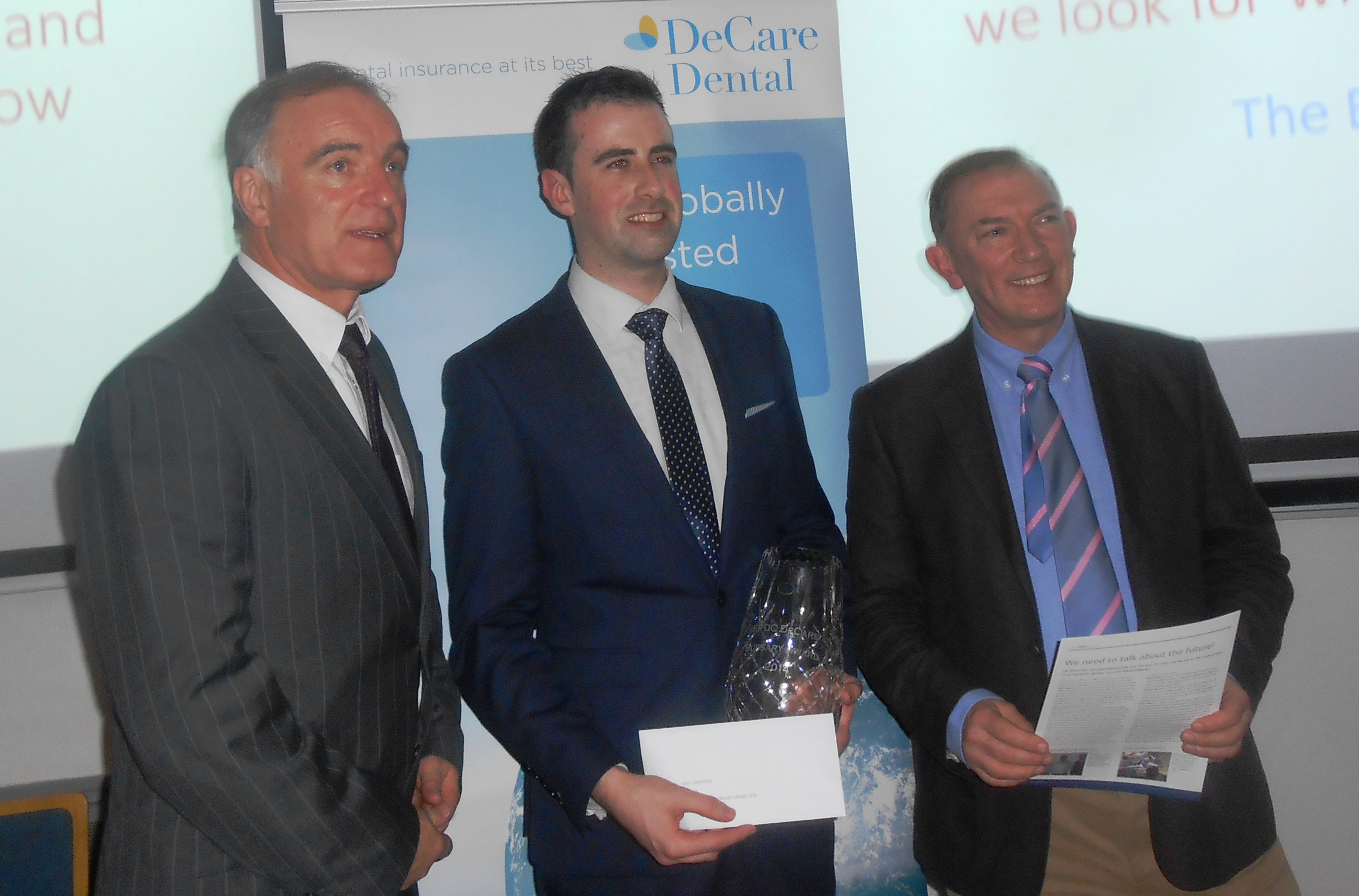 Joey Dovovan was awarded the DeCare