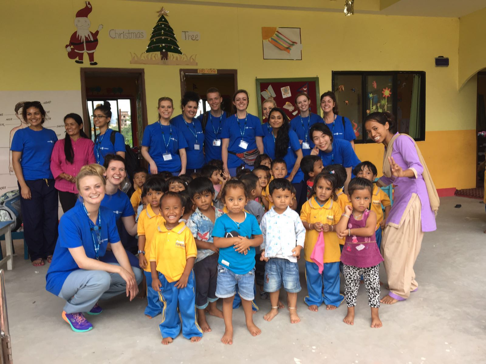 Dental Students Volunteer in Kathmandu