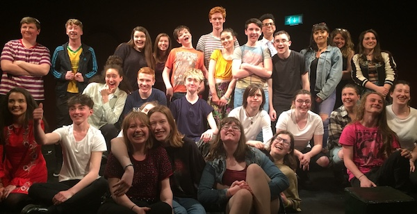 UCC Youth Theatre take part in Shorts Play Festival
