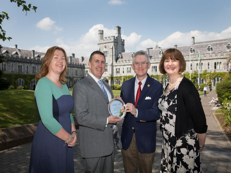 Kris Meulemans has been awarded the Deloitte UCC Executive MBA Graduate of the Year Award 2017.