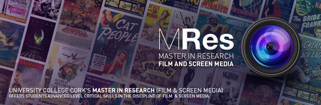 MRes: Masters in Research (Film and Screen Media)