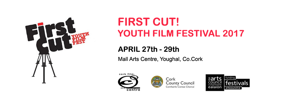 UCC, Film and Screen Media Students Win at First Cut! Youth Film Festival Awards 2017.