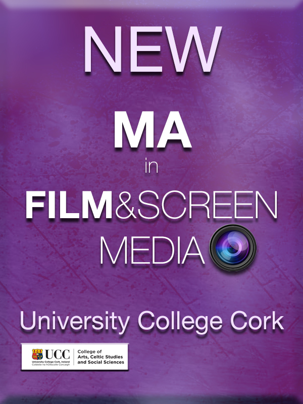 The new MA in Film and Screen Media is now open for applications through PAC.