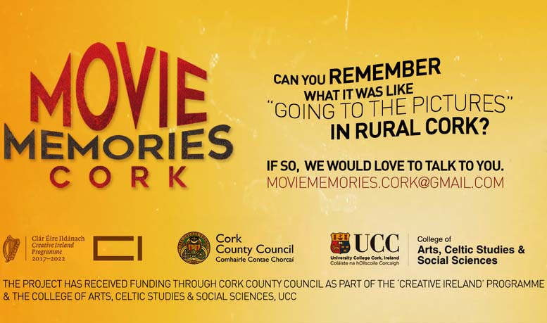 Exciting new research project: Movie-going memories in the county of Cork.