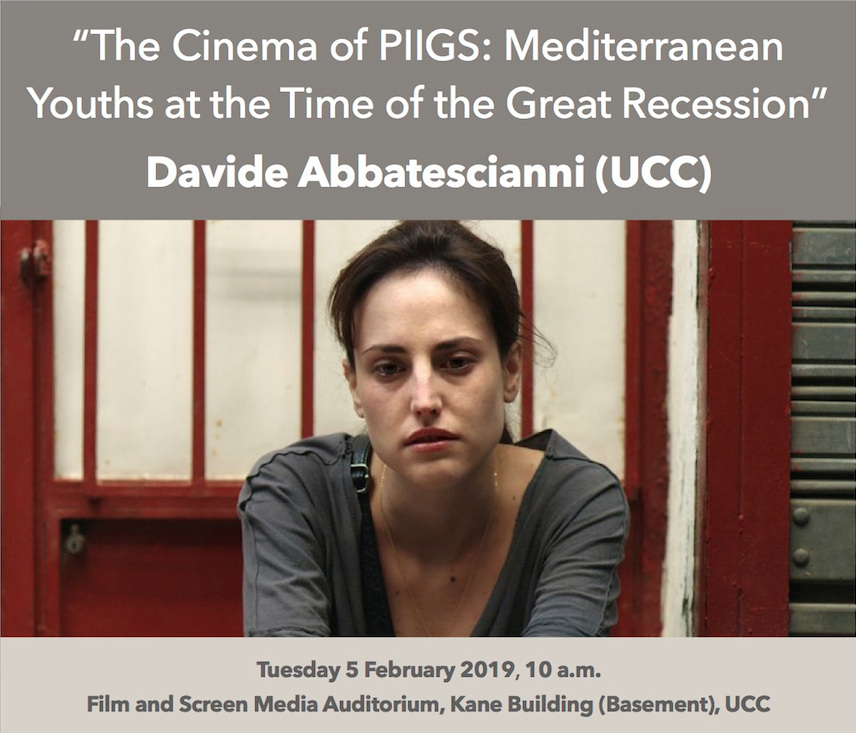 Research Seminar Series: Davide Abbatescianni (UCC)