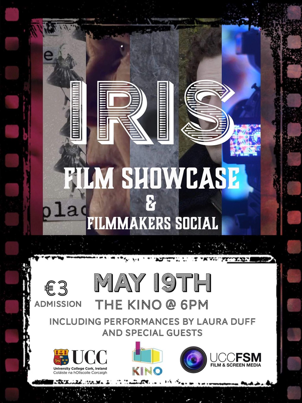 Film & Screen Media Showcase 2019. Sun 6pm, 19th May @ The Kino.