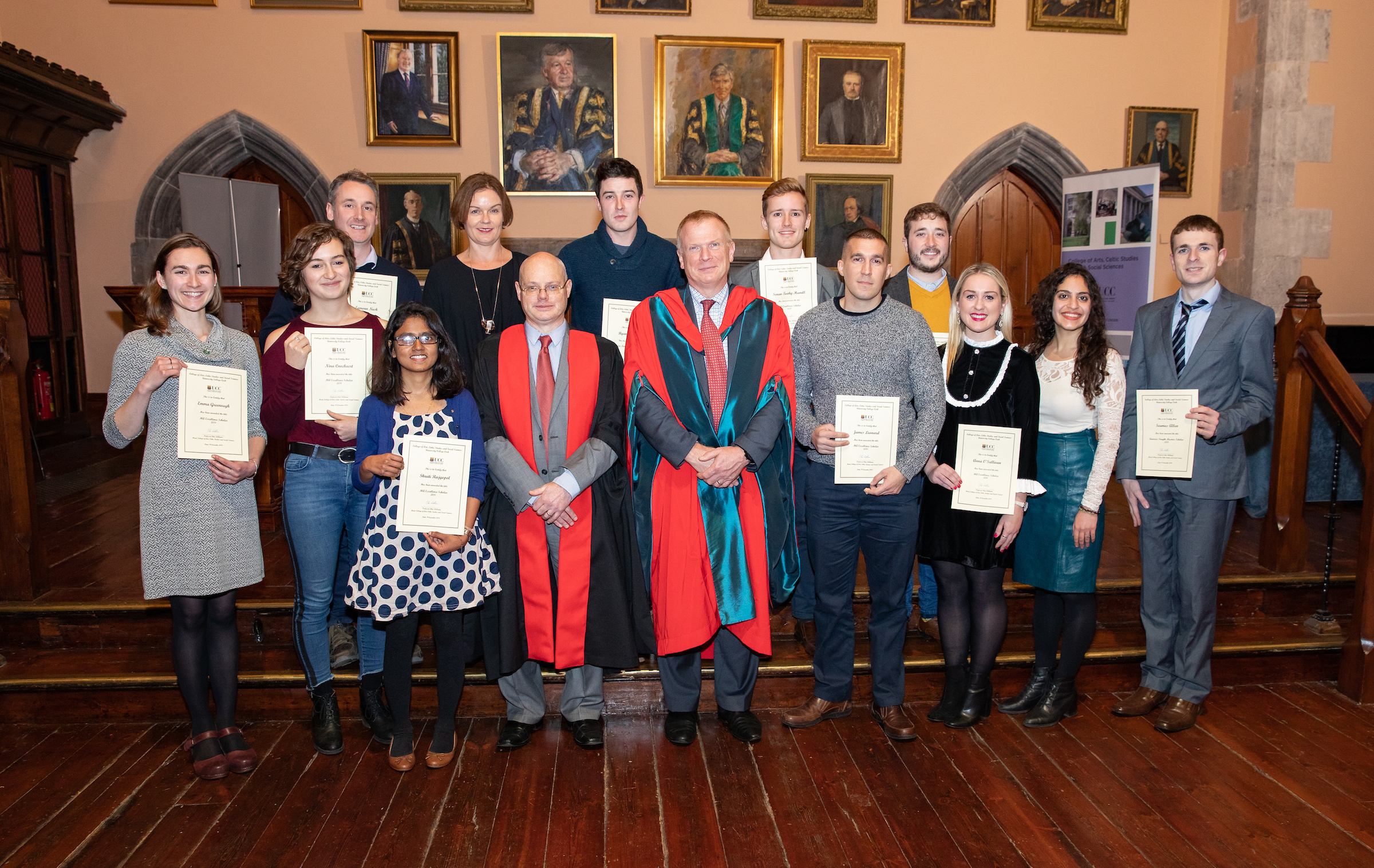 Film and Screen Media and the UCC Quercus Award