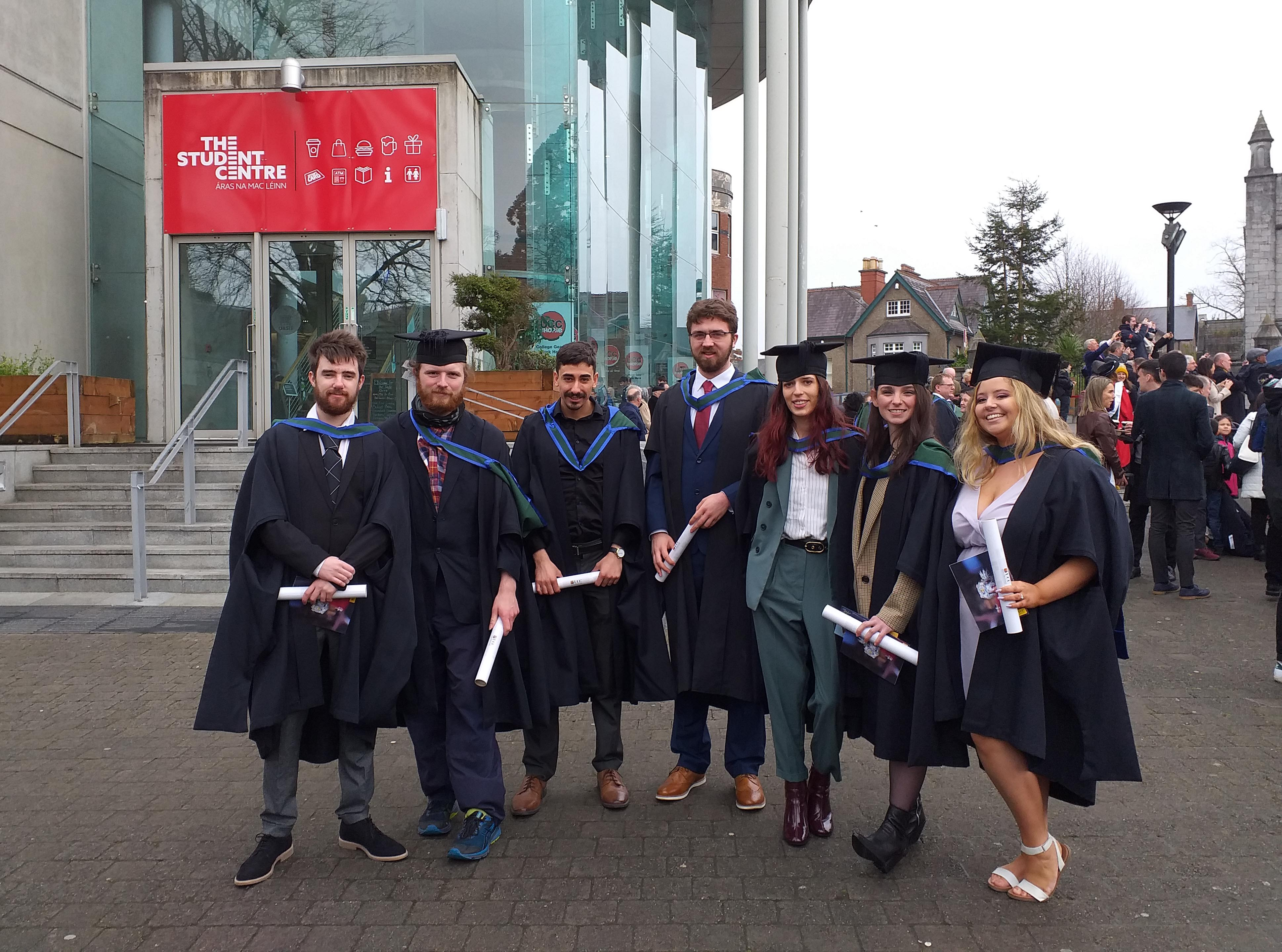 MA in Film and Screen Media students graduate!