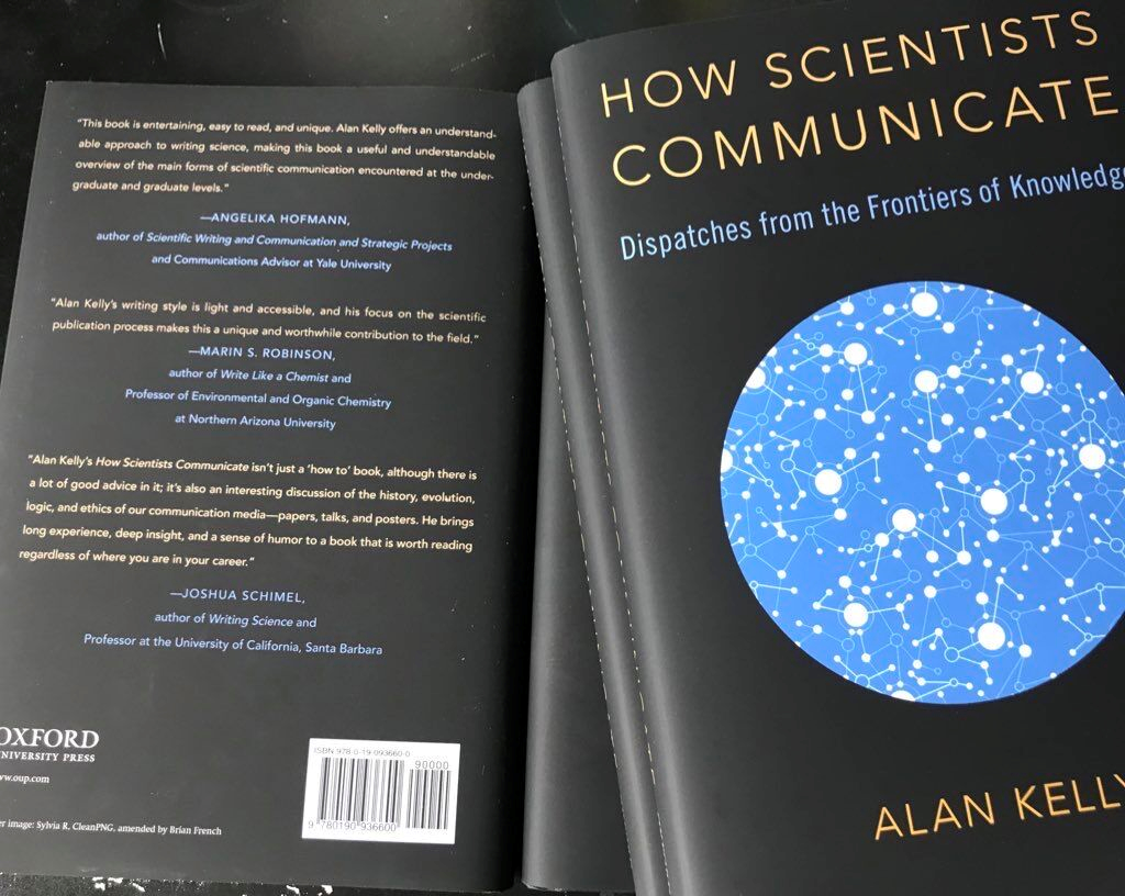 New book on science communication by Professor Alan Kelly
