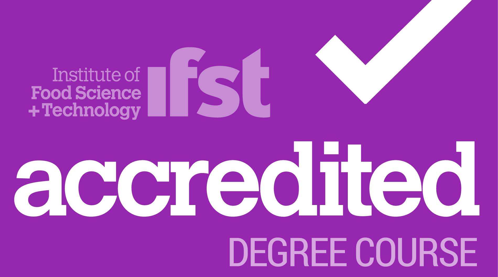 BSc Food Science, UCC, is IFST accredited