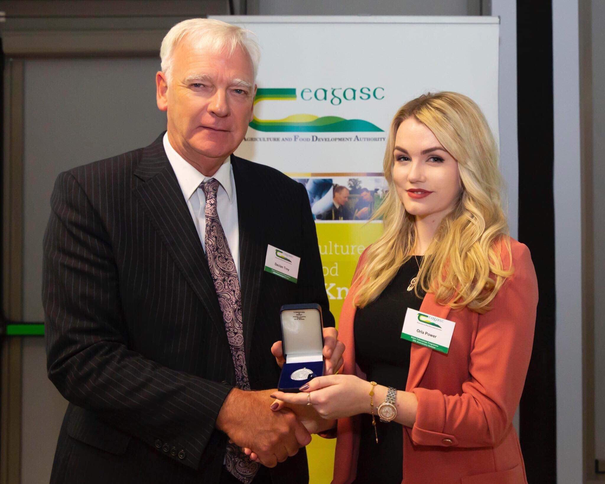 PhD Food Science candidate wins IFSTI medal for Best Food Science and Technology Presentation