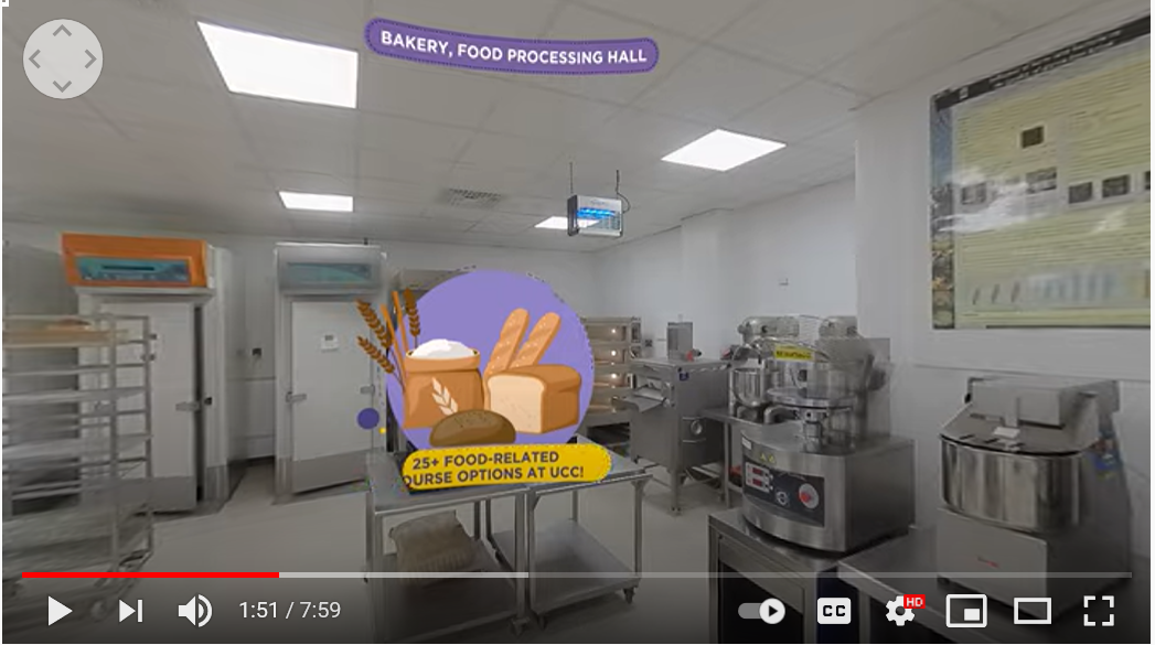 360° Virtual Tour of our Campus - an ideal way to find out more about STEM at UCC