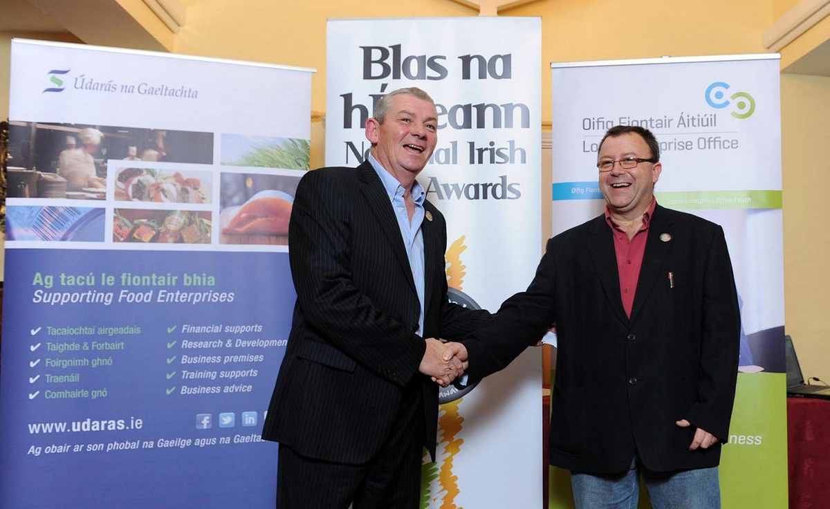 UCC and Blas na hEireann - Irish Food Awards, a proud association.