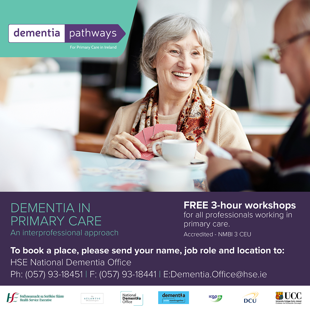 NEW! 2017 dementia training workshops for primary care