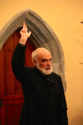 Peter Jankowsky as Father Wise in Cork's World Theatre
