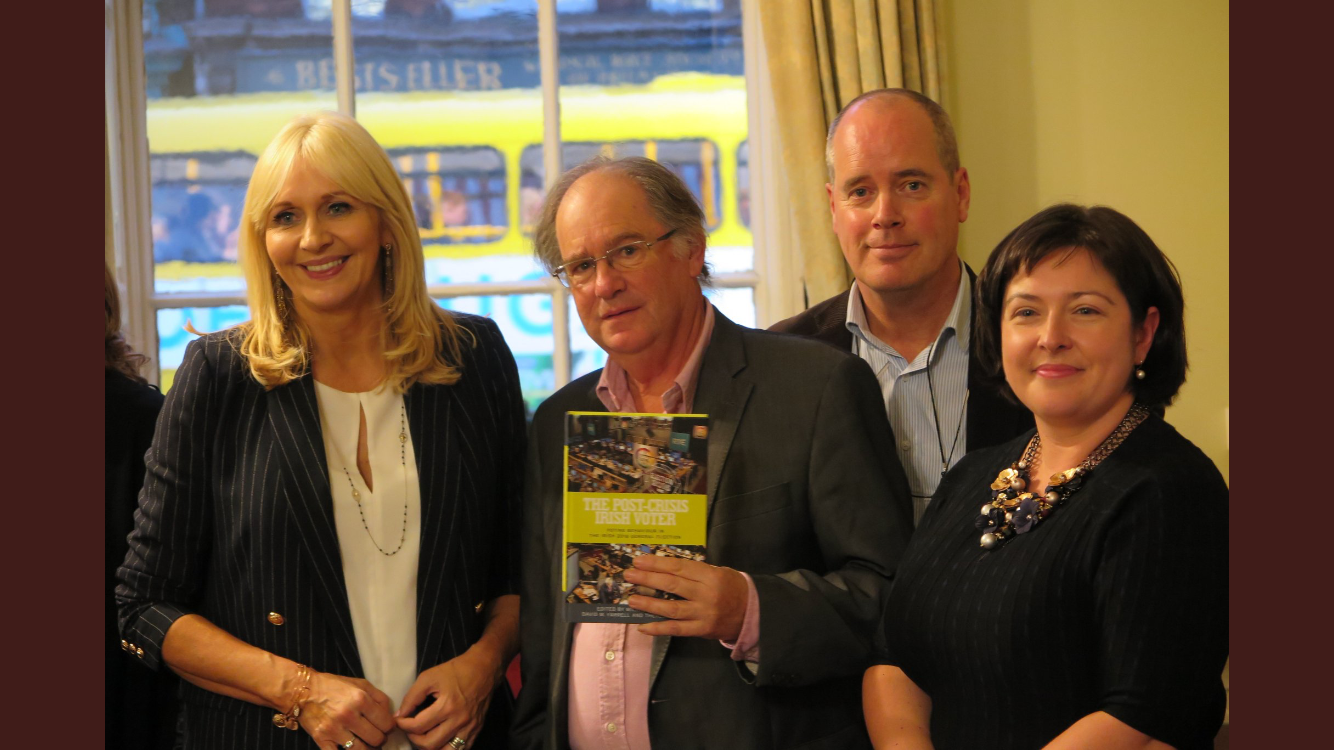 Book Launch 'The Post-Crisis Irish Voter: Voting behaviour in the Irish 2016 general election'