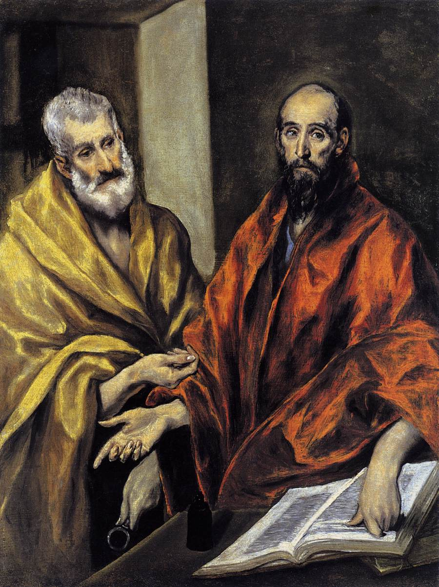 The Visual and the Textual in a Painting of El Greco
