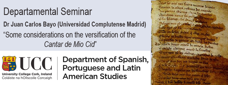 Dr Juan Carlos Bayo (Universidad Complutense de Madrid): Some considerations on the versification of the Cantar de Mio Cid