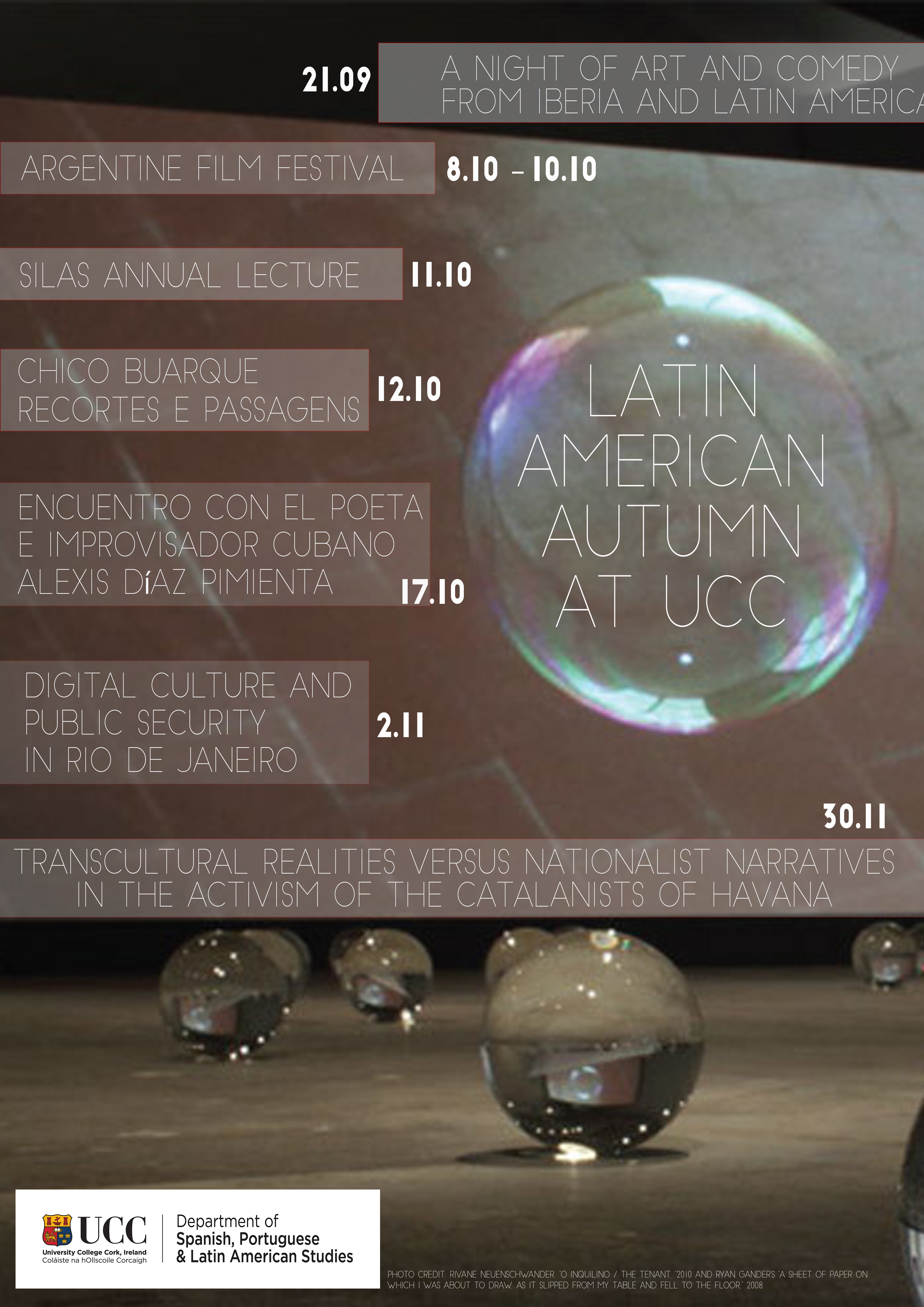 Latin American Autumn at UCC
