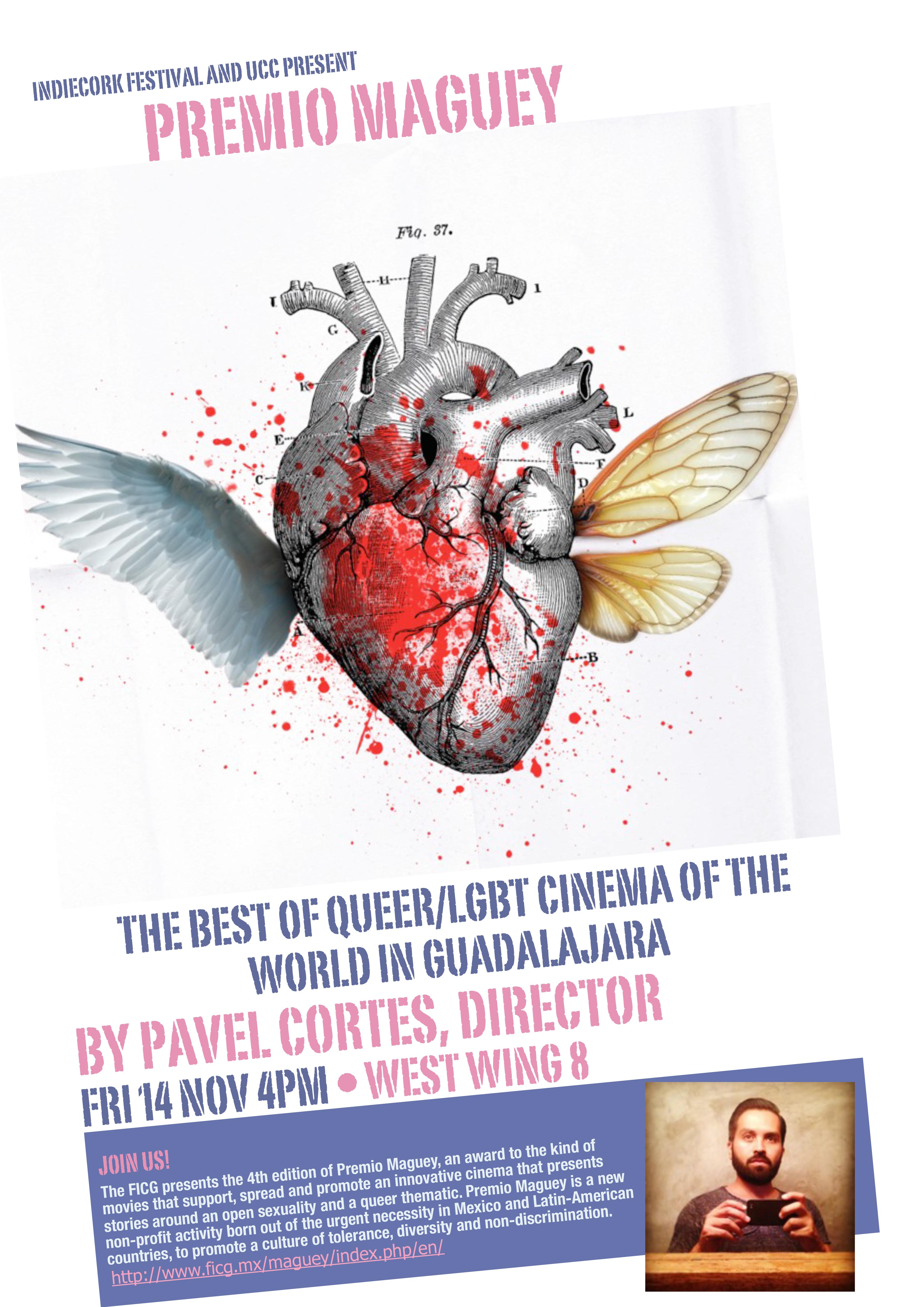 Talk with Pavel Cortés – Director of the Maguey Award