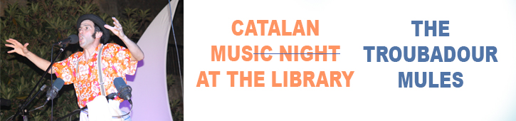 Catalan Music Night with The Troubadour Mules