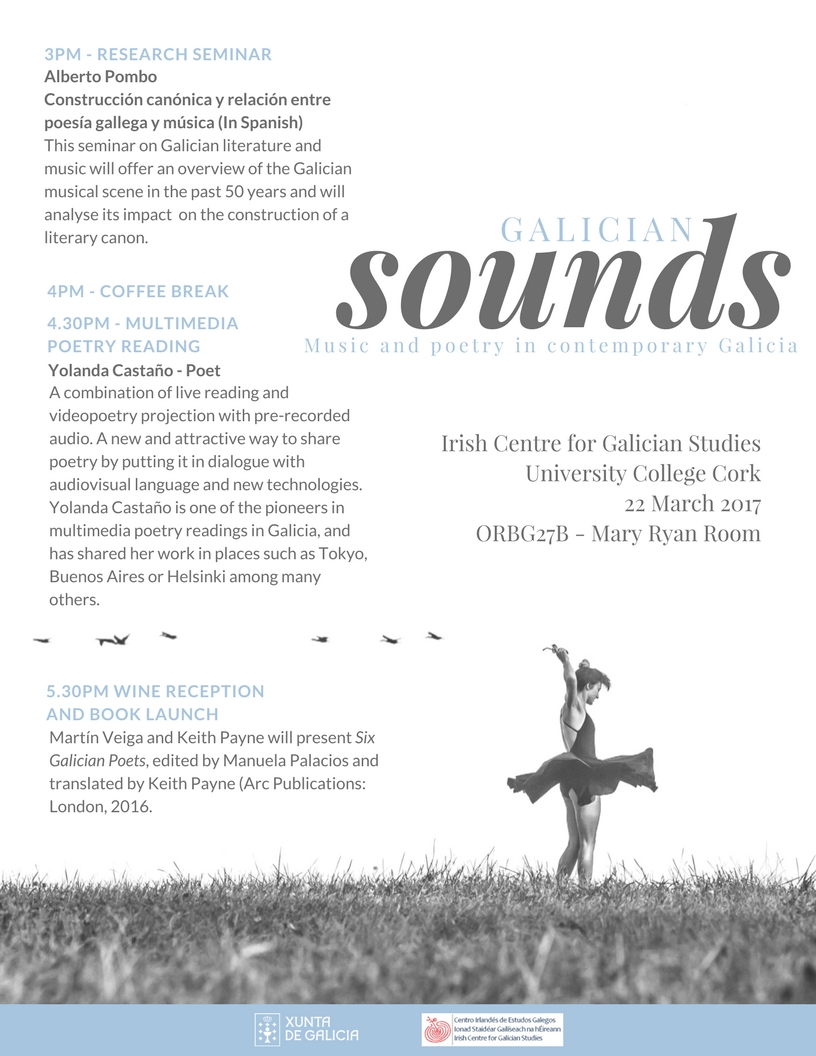 22n March - Galician Sounds: Music and Poetry in Contemporary Galicia