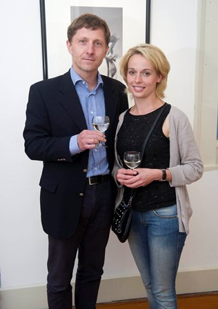 Professor Thomas Walther, Head, Dept. of Pharmacology and Svetlana Shevchenko