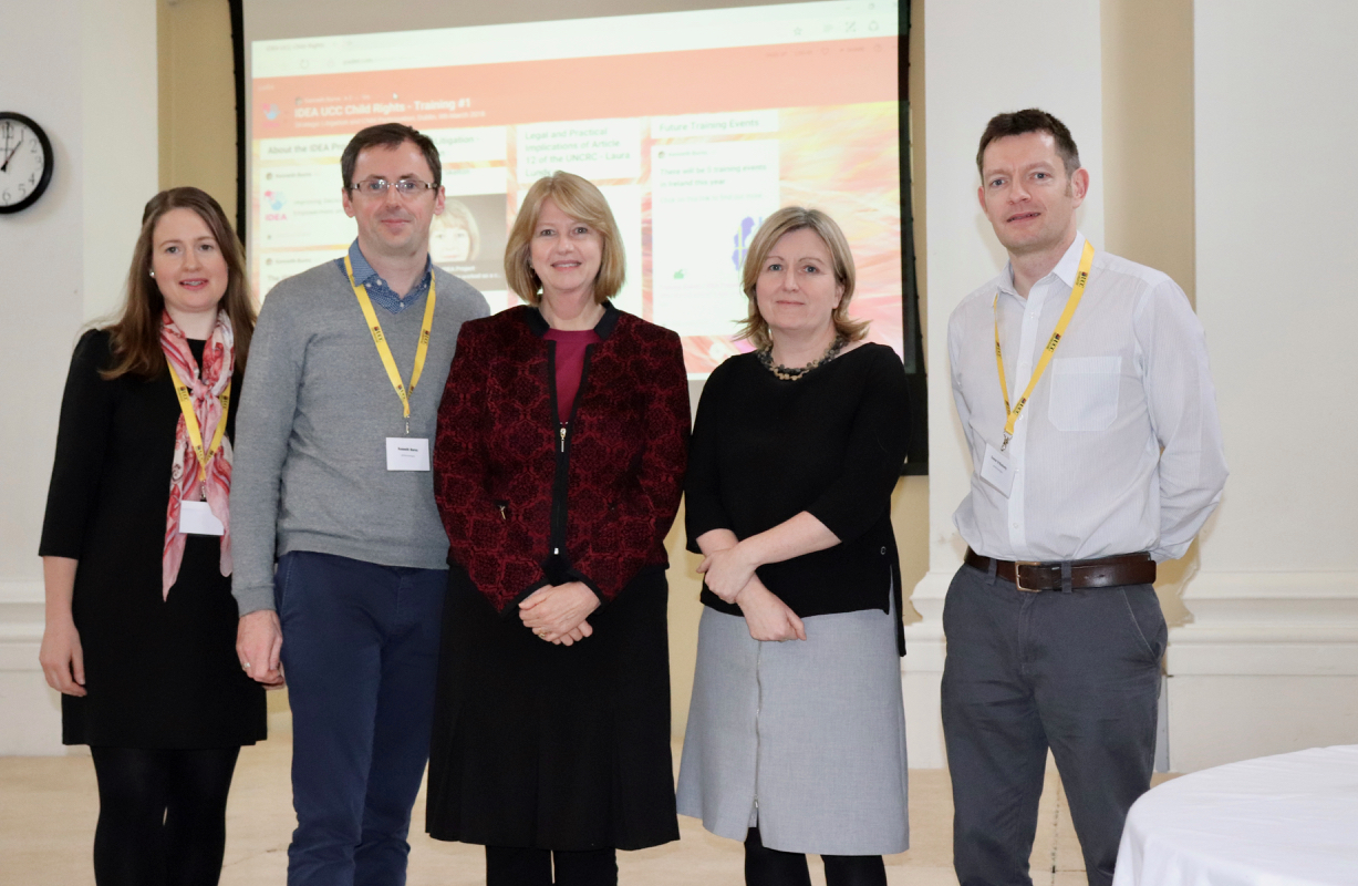 UCC School of Law Host First IDEA Training Event Covering Strategic Litigation and Models of Child Participation
