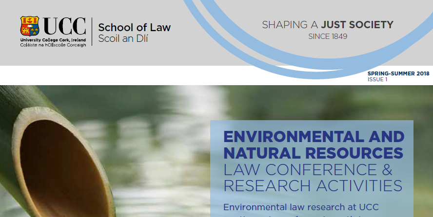 Exciting New Newsletter Published by UCC School of Law