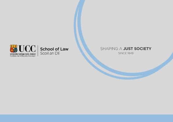 UCC School of Law Conference to Discuss the Ethical Space Around Reproductive Health Services Following Removal of Article 40.3.3 of the Constitution