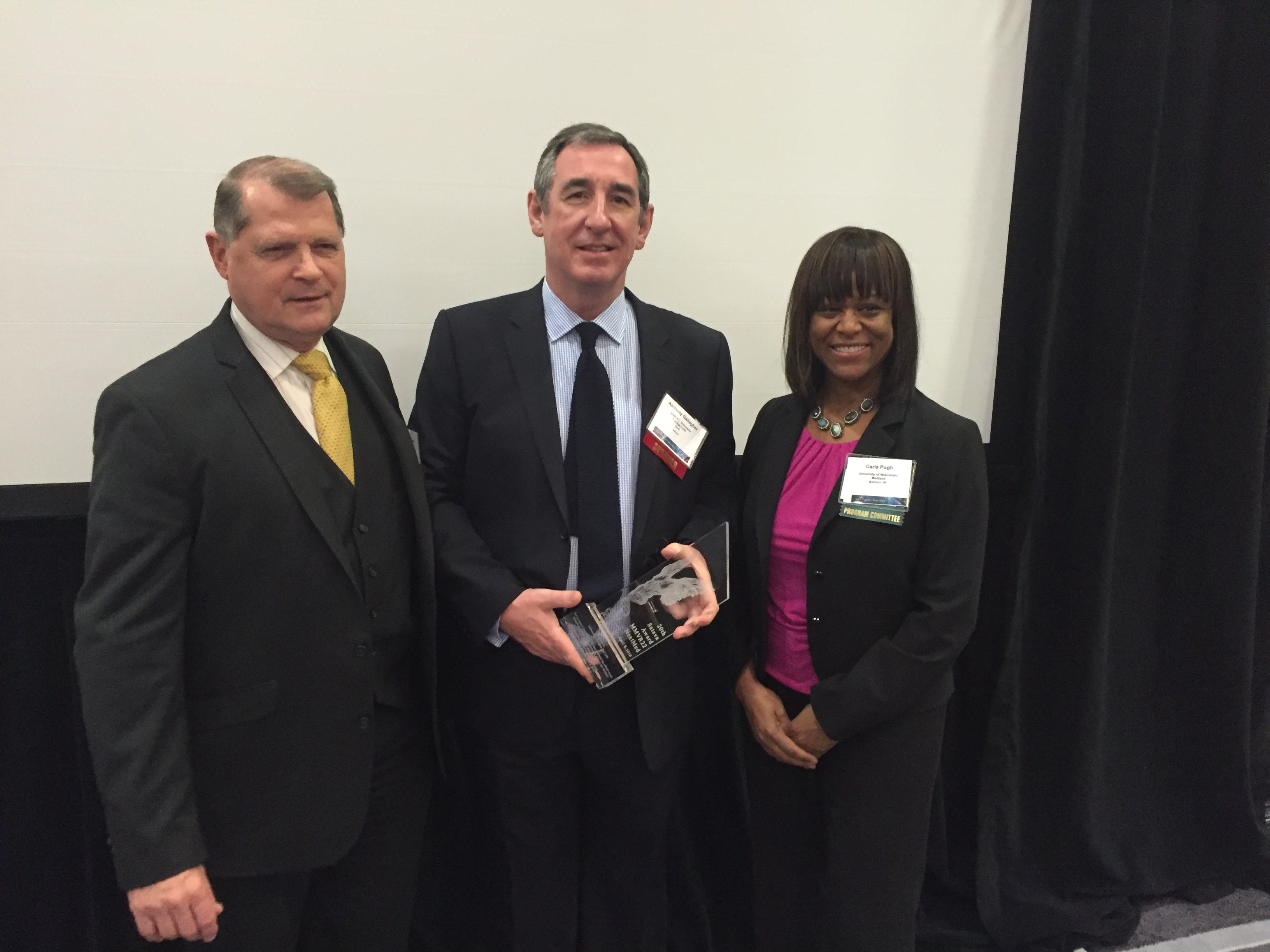 Dr. Gallagher Receives Satava Award for Advance Technology in Medicine