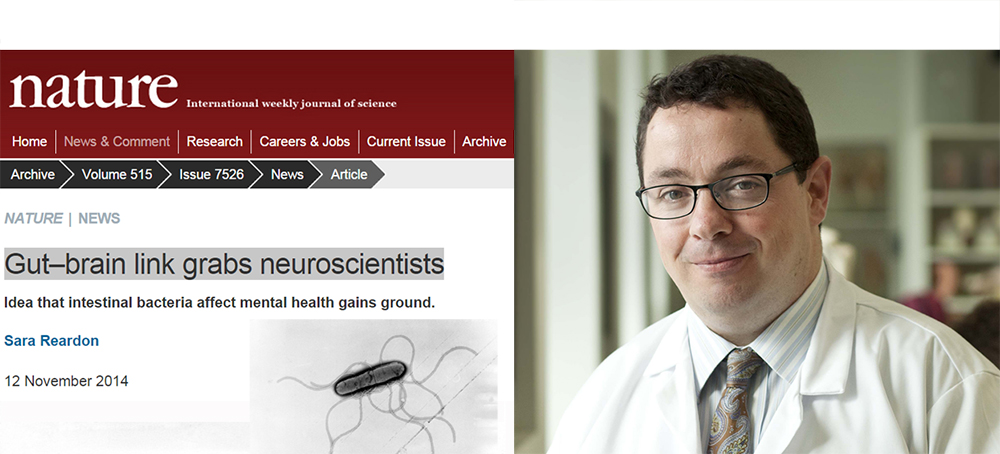 Professor Cryan's Research Profiled in Nature