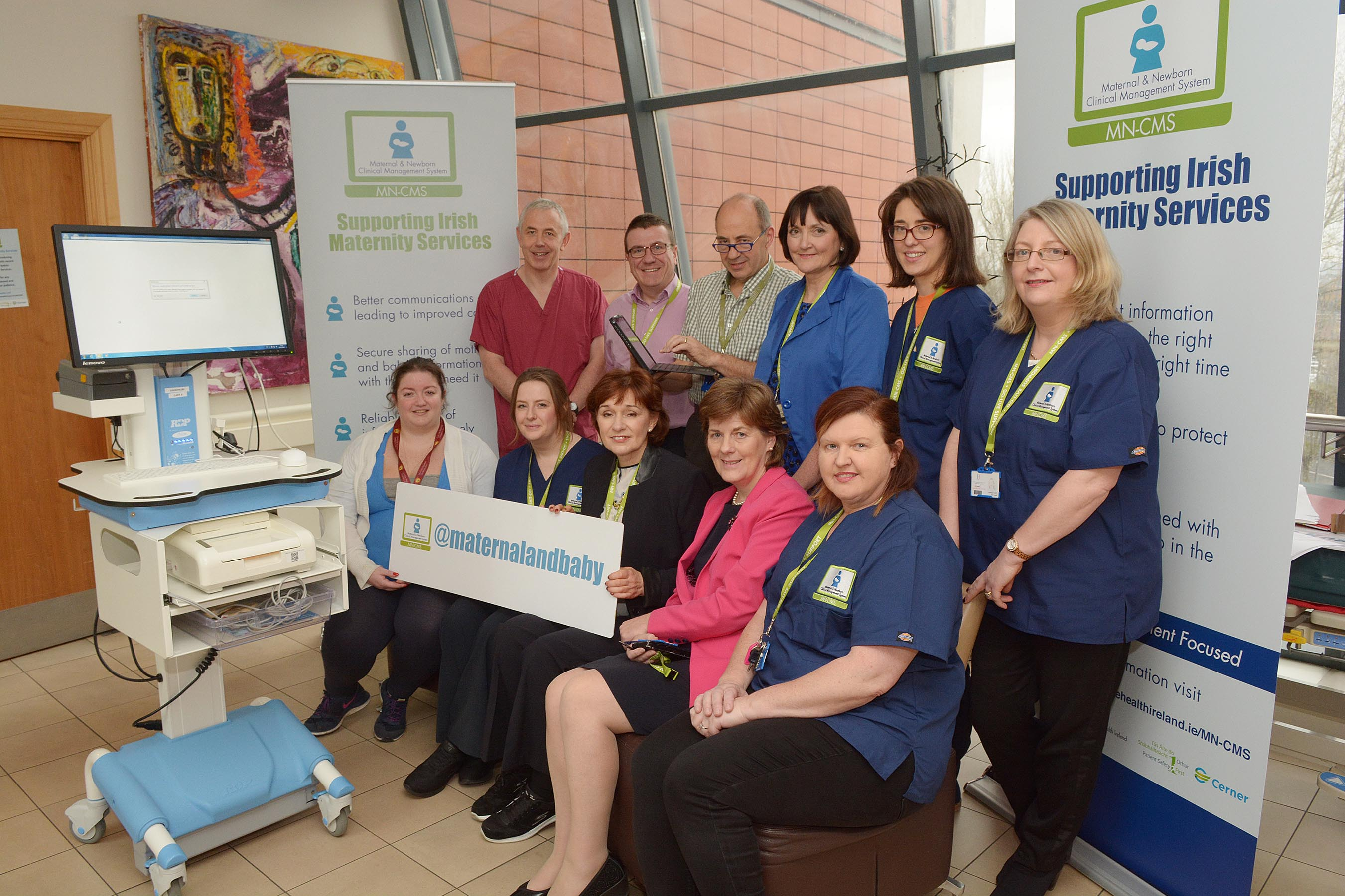 Maternity Services Welcomes First Babies with Electronic Health Record