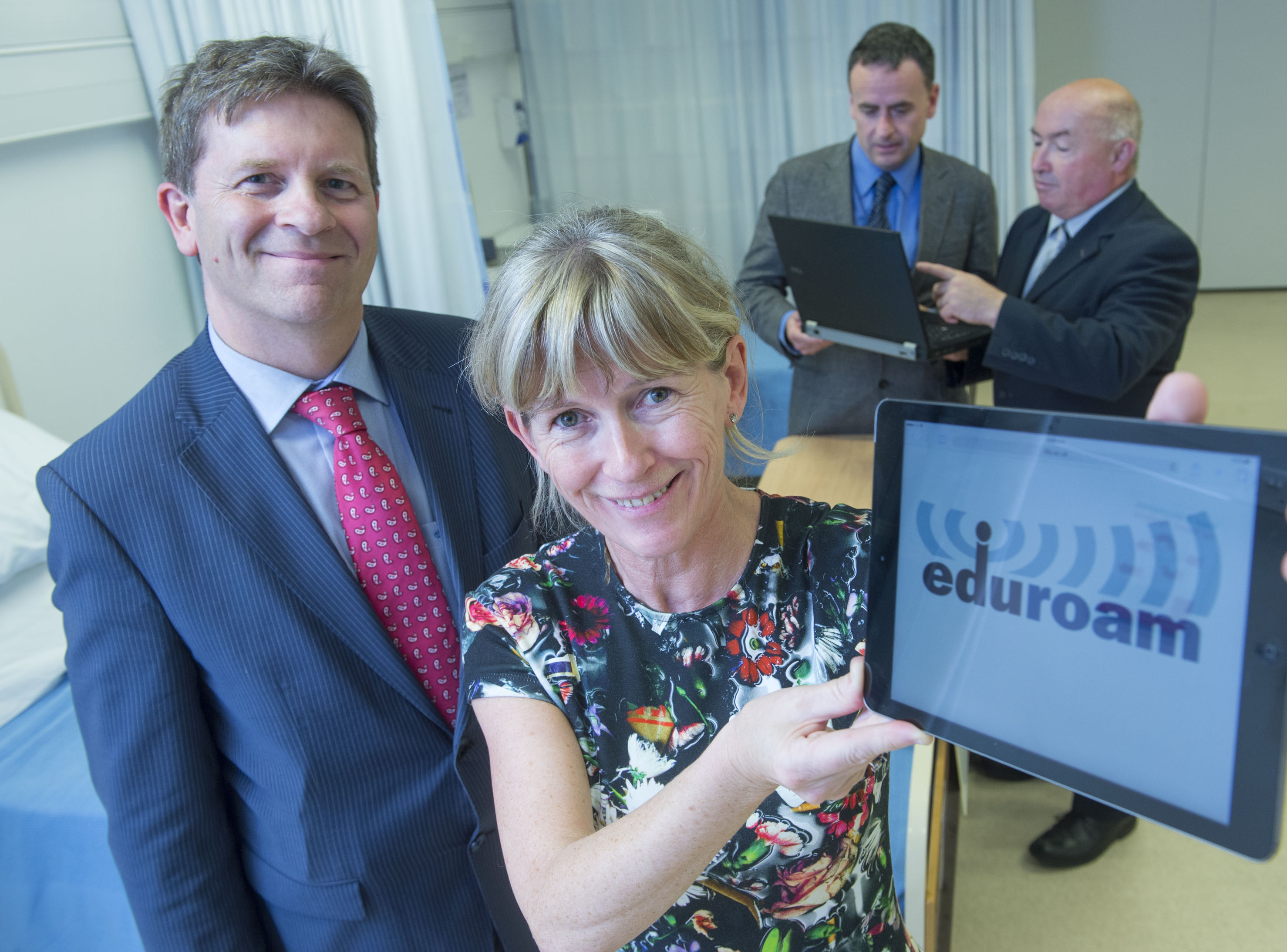 Roll-out of EDUROAM Across South/South West Hospital Group