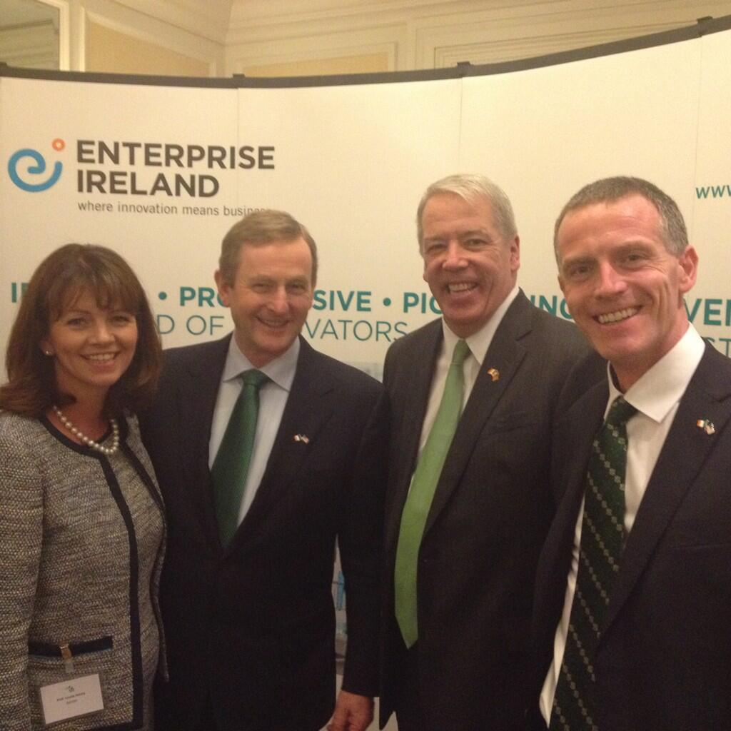 Taoiseach welcomes new Irish-American technology development partnership