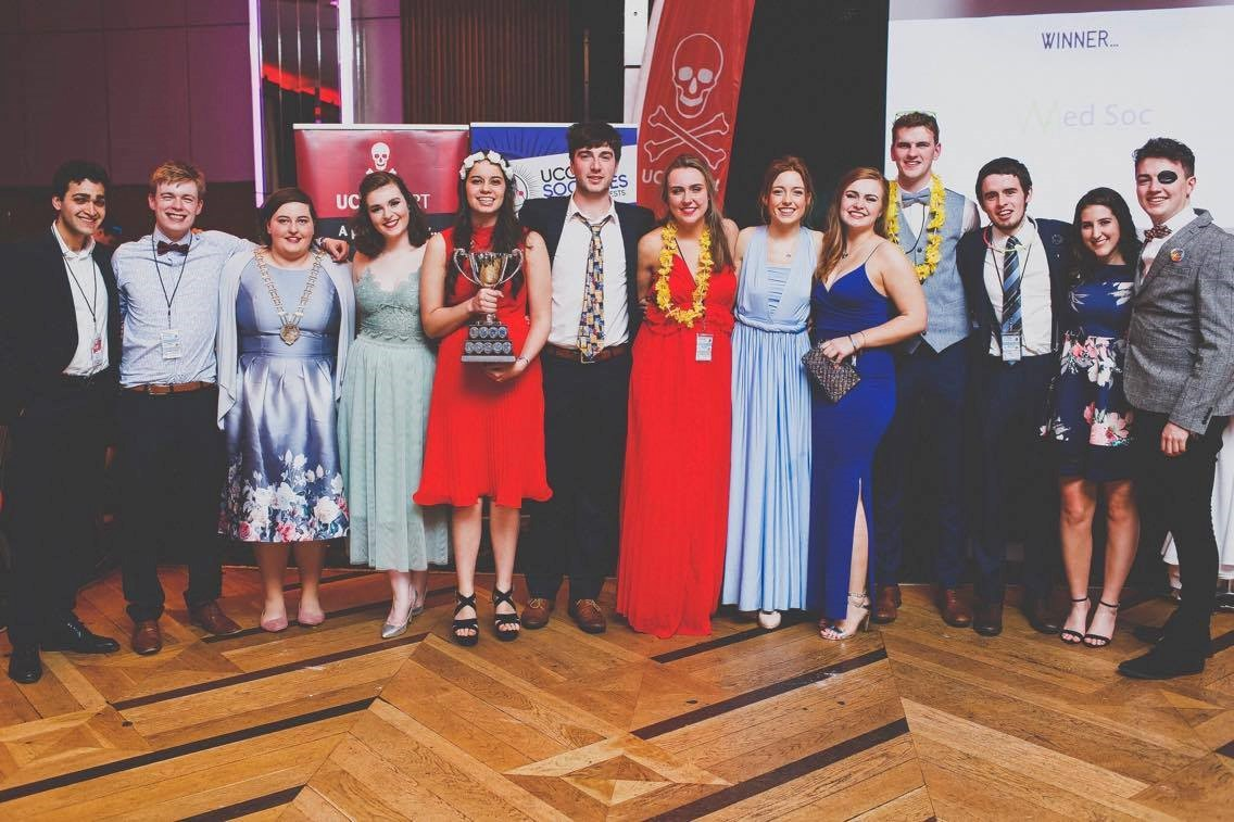 Success for Medical Student Societies at UCC Society Awards