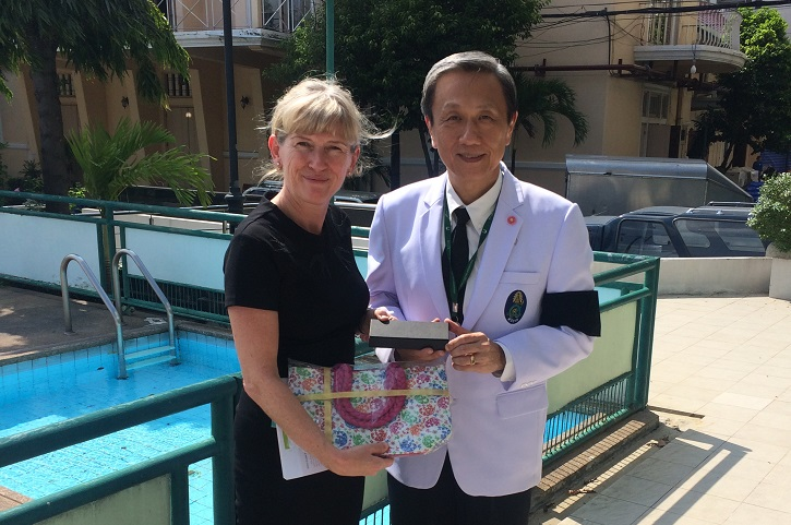 Prof Mary Horgan visits Thailand