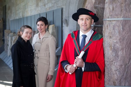Dr. Éanna Falvey receives his PhD