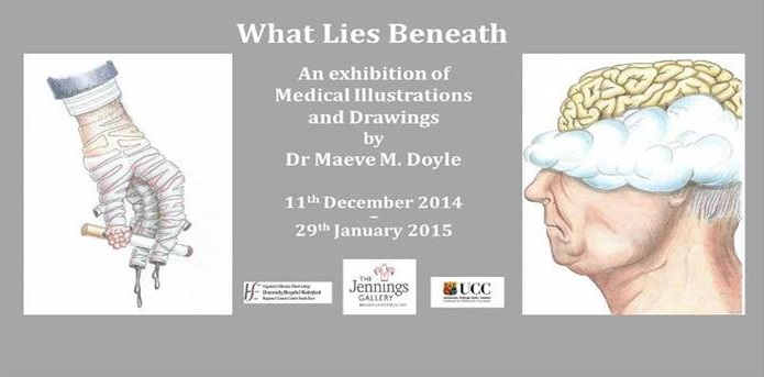 What Lies Beneath Exhibition, Jennings Gallery UCC