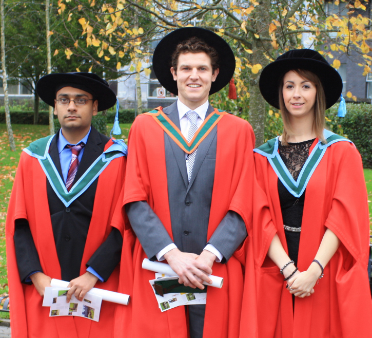 Autumn 2014 PhD and MSc Graduates