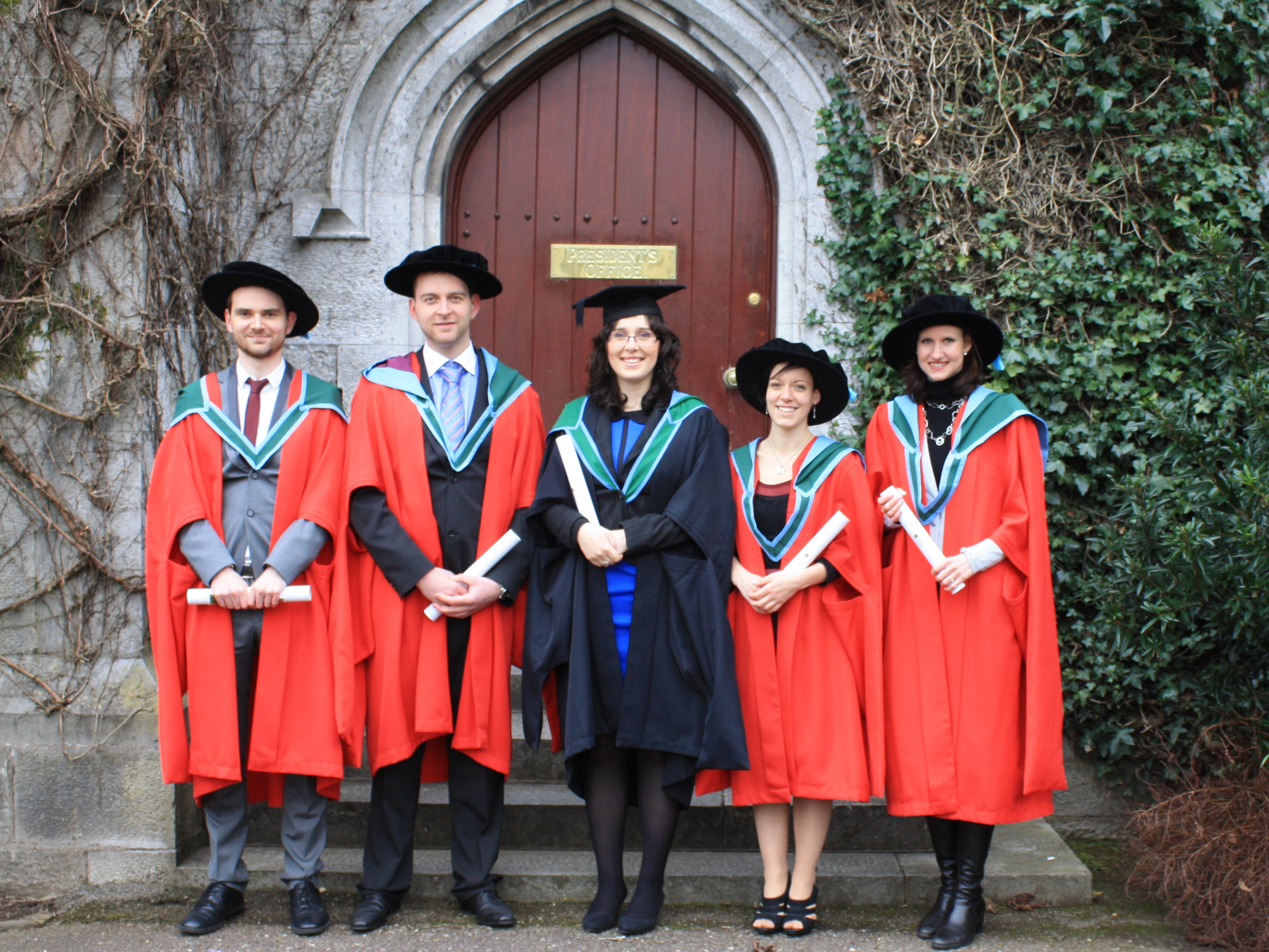 Congratulations to Microbiology MSc and PhD Graduates