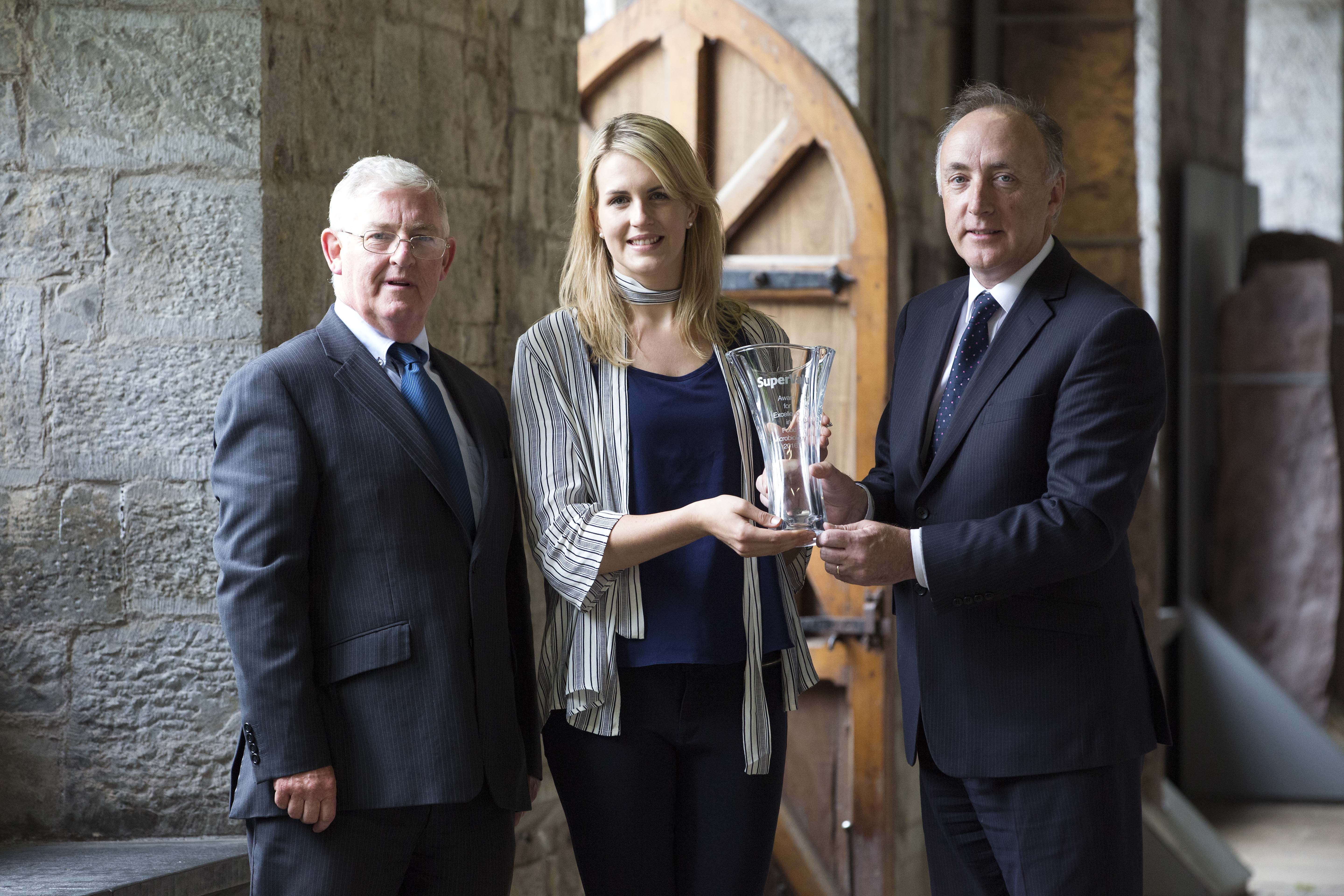 Presentation of SuperValu Award for Excellence in Food Microbiology 2016