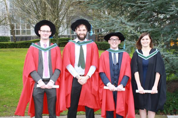 Congratulations to the Spring 2019 PhD and MSc Graduates from the School of Microbiology