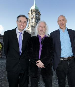 Aidan Doyle, David Edwards and Andy Bielenberg - contributors to Cambridge History of Ireland
