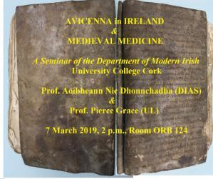 Avicenna in Ireland and Medieval Medicine