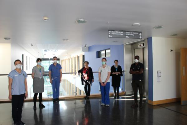 ONCOLOGY DAY SERVICES MOVE INTO THE SCHOOL OF NURSING AND MIDWIFERY, UCC
