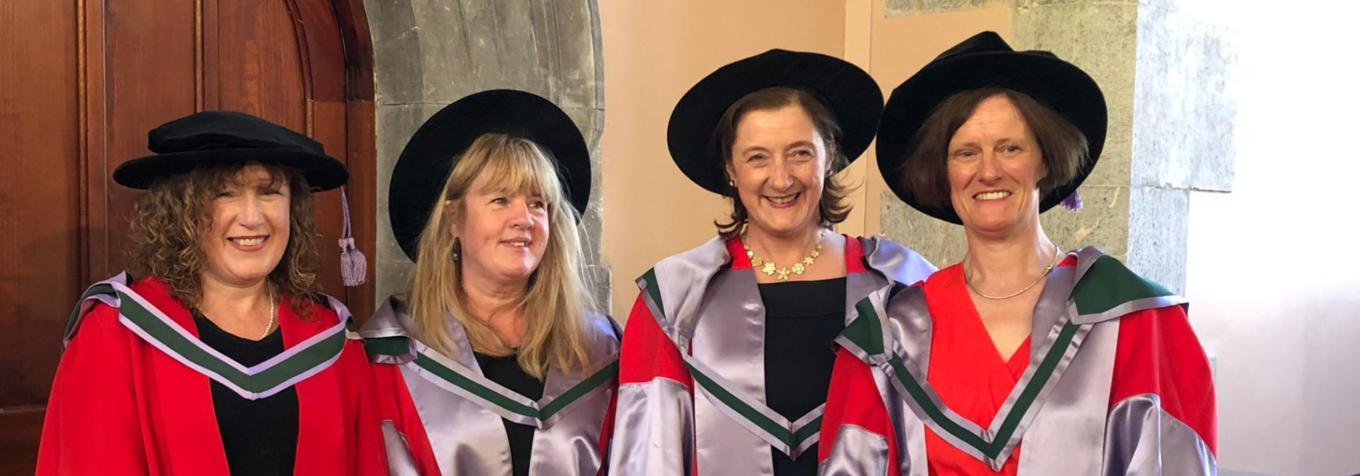 Conferring ceremonies at UCC 20th June were a great success.