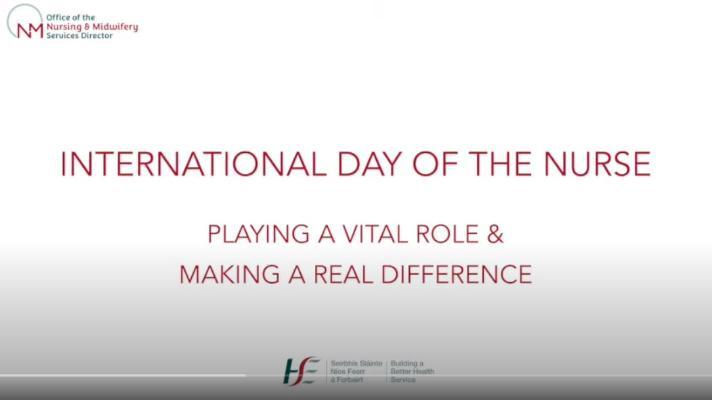 HSE Marks International Day of the Nurse 12th May 2020